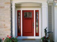 Most Popular Front Door Colors | shows a red front door ...