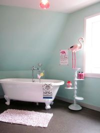 flamingo bathroom #home #bathroom #deco   HOME // BATHROOM ...