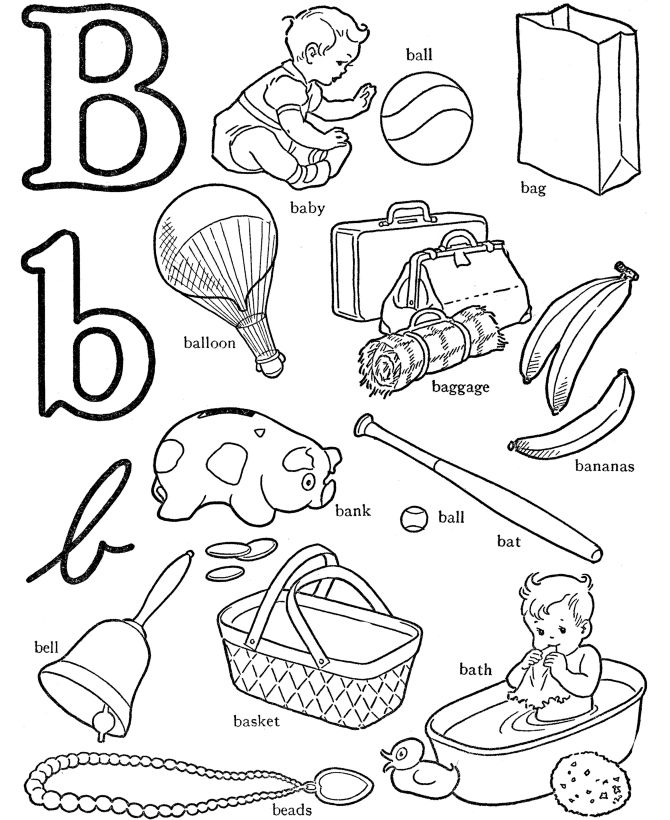 17 Best images about Alphabet- Letter B on Pinterest
