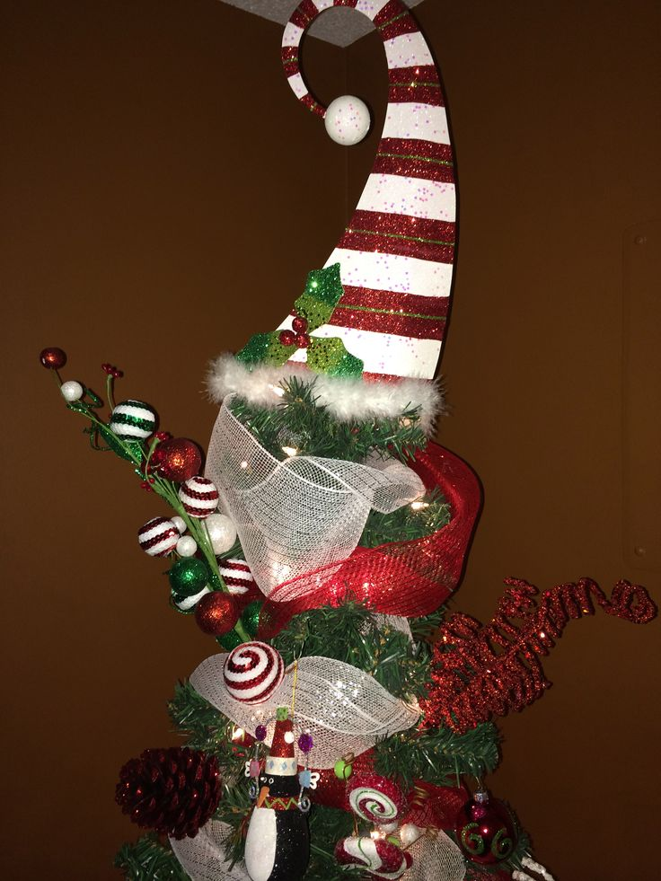 Christmas tree Whimsical Tree topper from Pier 1  Happy Holiday  Pinterest  Trees Christmas