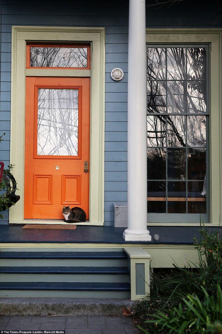 17+ best ideas about Orange Front Doors on Pinterest
