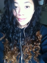 naturally curly black hair dip