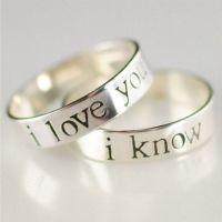 17 Best ideas about Couples Promise Rings on Pinterest