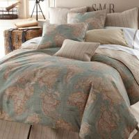 Legacy Home World Map Bedding By Legacy Home Bedding ...