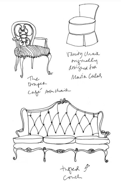 1000+ images about Design-Sketching-Chair & Sofa on