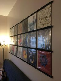 Displaying vinyl records idea | HOME (where my  is ...