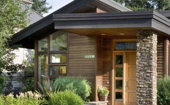 Stunning Modern Flat Roof House Gorgeous Small Modern