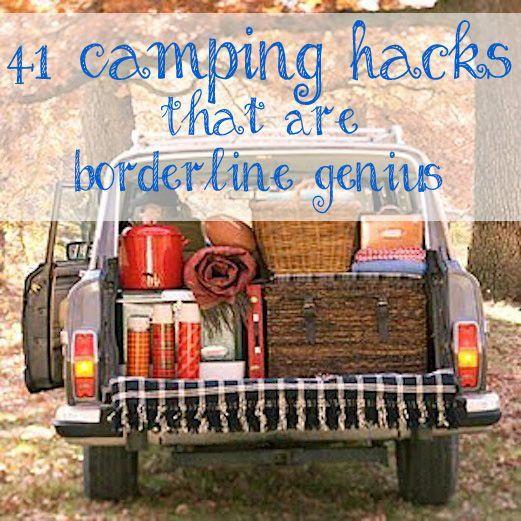 41 Camping Hacks That Are Borderline Genius Camping