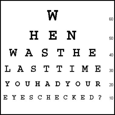 1000+ images about Eye charts & other optometric tools on