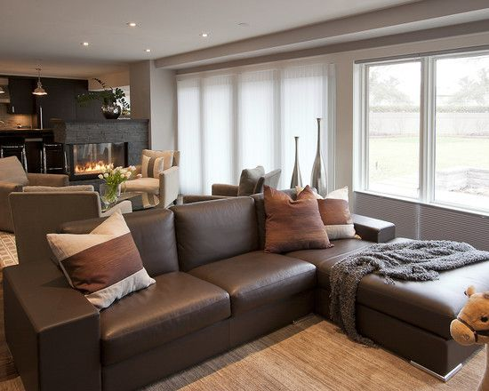 living room ideas with gray couches luxury leather sets brown couch grey walls | decor pinterest ...