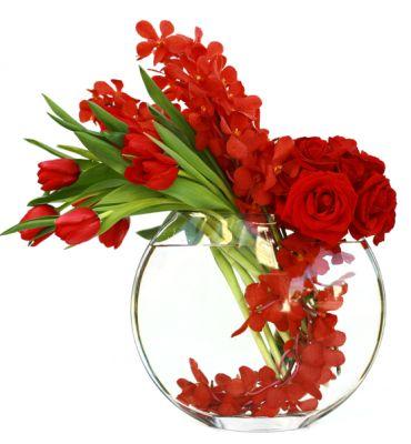 630 best Red Flower Arrangements & Bouquets images on