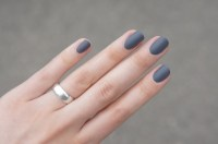 Matte Grey Nails Nr 35 by Essence | Beauty/Hair ...