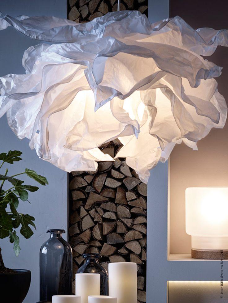 LEDljuskllorna har ett varmt ljus som efterliknar