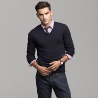Like the pairing of sweat with nice dress shirt under the ...
