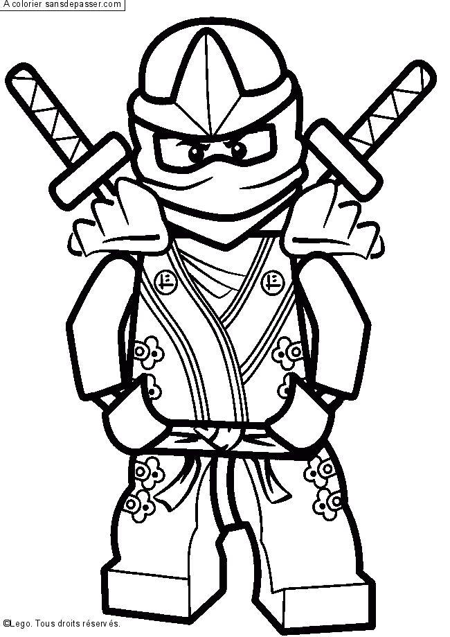coloriage lloyd  ninjago vert par un invité  dessins