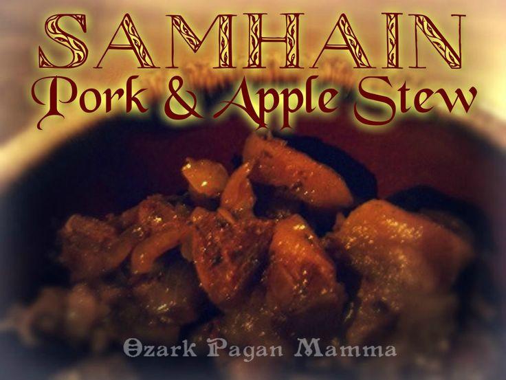 Samhain Pork and Apple Stew  A Wiccans Pagan Bohemian