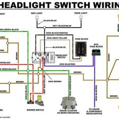 Toyota Trailer Wiring Diagram For Square D Lighting Contactors Eb Headlight Switch | Early Bronco Build List Pinterest