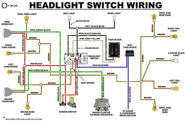 2003 ford f150 alternator wiring diagram eb headlight switch | early bronco build list pinterest