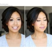 filipino hair makeup updo wedding
