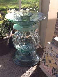 1000+ ideas about Bird Baths on Pinterest | Glass Garden ...