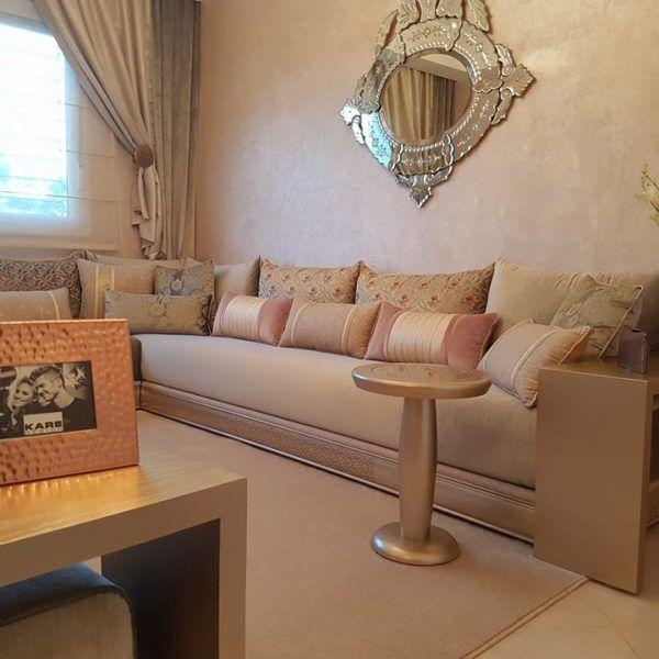 Salon Moderne Casablanca - Décoration de maison idées de design d ...