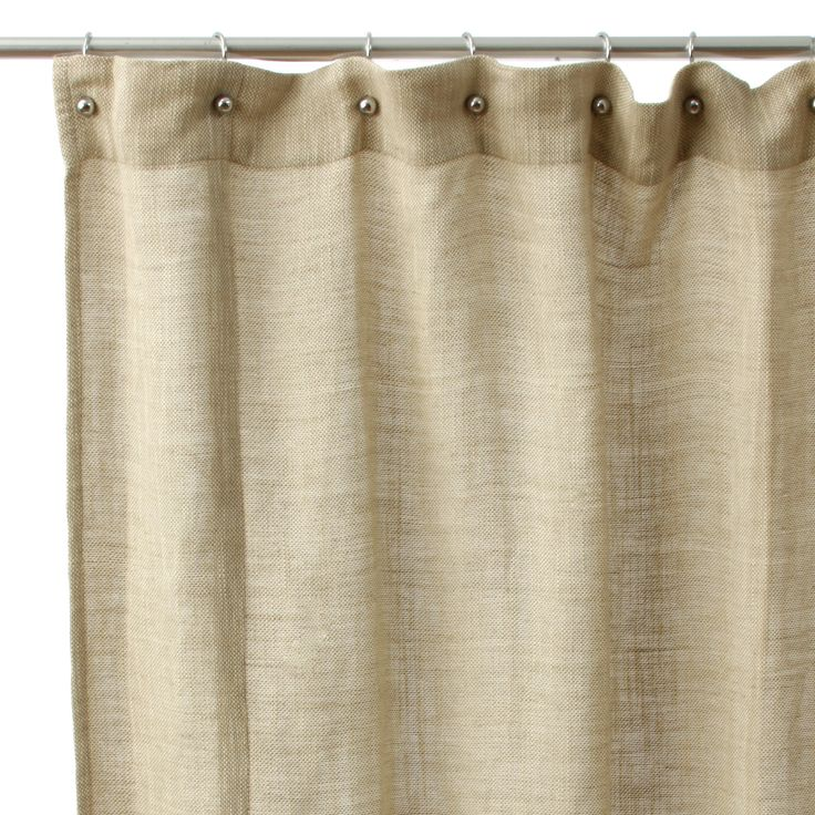 Jack Rustic Cotton Shower Curtain by Cottage Home  A