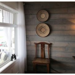 Different World Chair Base Swivel Shiplap With Transparent Water Based Driftwood Stain | Master Bedroom Ideas Pinterest Stains ...