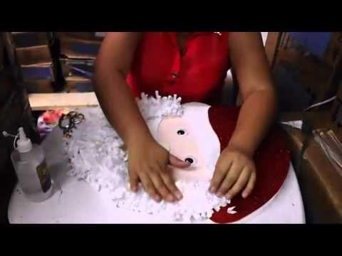 Casa Huacho Maritn Manualidades Con Lucero Santa Claus
