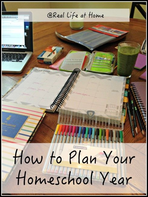 How to Plan Your Homeschool Year – I can't wait to get started with planning for this year! Planning is actually one of my