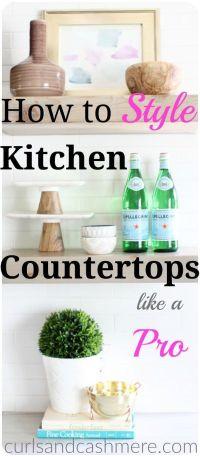 Best 20+ Kitchen countertop decor ideas on Pinterest
