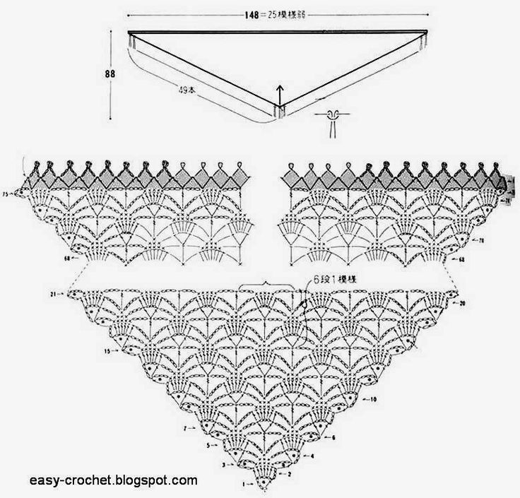 1004 best Diagramas crochet images on Pinterest