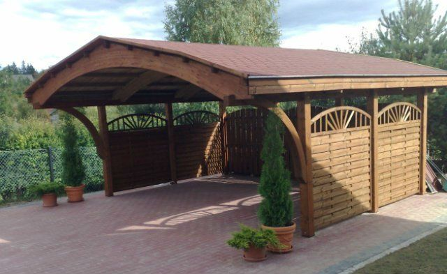 Wooden Carport Timber Garage Buy Modern Prefab Garage