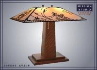 Wooden Mission Lamp Plans