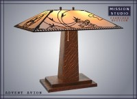 Wooden Mission Lamp Plans - WoodWorking Projects & Plans