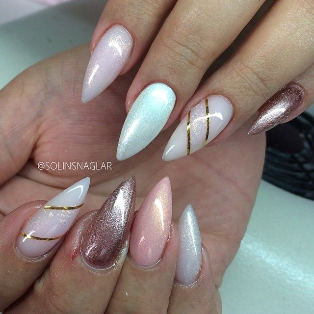 1000+ images about Stiletto Nails