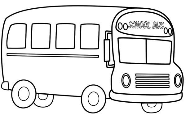 Free colouring pages, Buses and Colouring pages on Pinterest