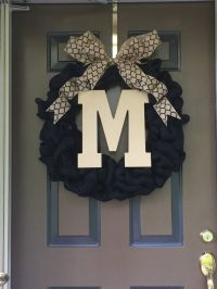 1000+ ideas about Front Door Initial on Pinterest