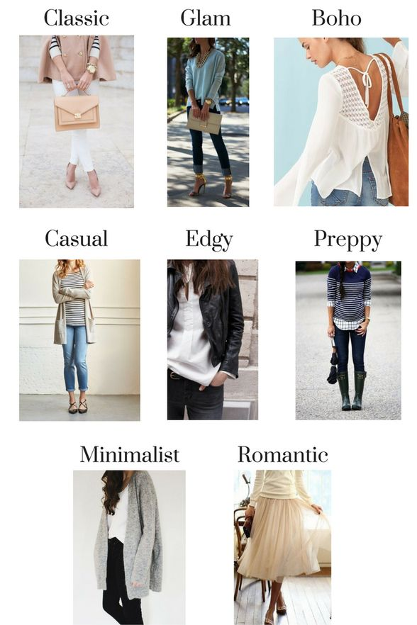 Types of fashion styles, Fashion styles and Personal style ...