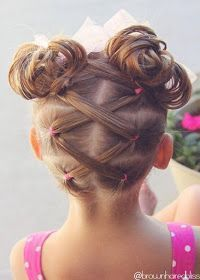 25 Best Ideas About Little Girl Hairstyles On Pinterest Kid