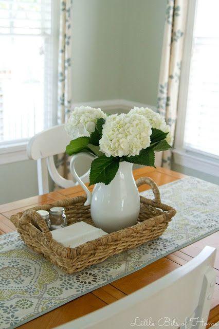 Centerpiece Planter Box Kitchen Table Centerpieces