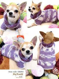 Free Xxs Crochet Dog Sweater Pattern ~ Dancox for