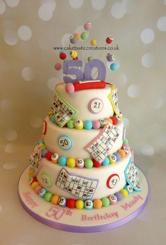 1000 Images About Bingo Themed Cakes On Pinterest Bingo