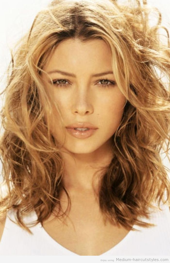 1000 ideas about Medium Length Wavy Hairstyles on