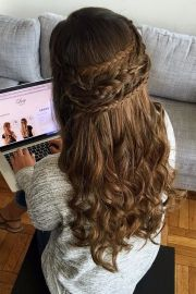 bohemian boho updo hairstyle