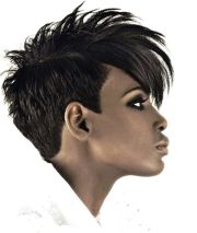 black girl curly mohawk hairstyles