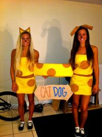 Catdog Halloween costume - DIY costume | clothes ...