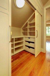 Best 25+ Attic closet ideas on Pinterest | Slanted ceiling ...