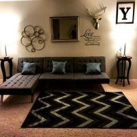 Amazon.com: DHP Emily Splitback Futon, Black: Furniture ...
