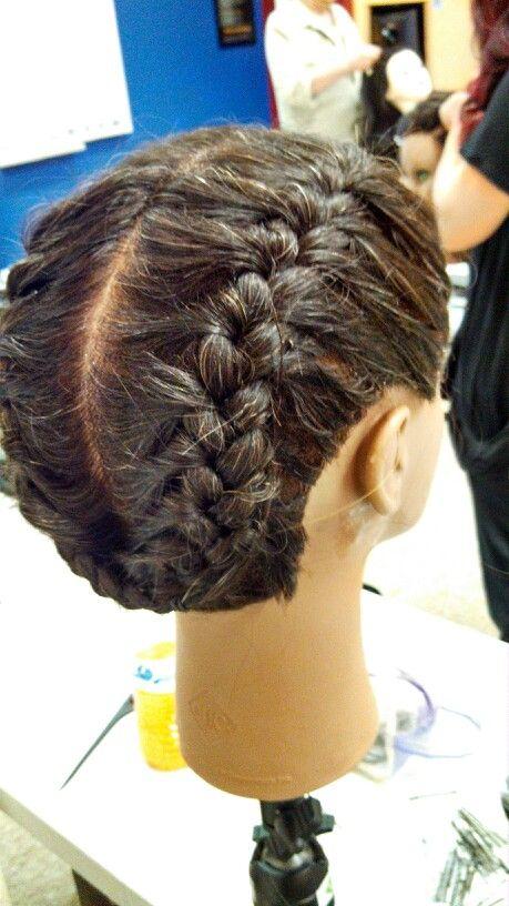 French braid pigtails  Hair designs  Pinterest  Pigtail Braids and French braid pigtails