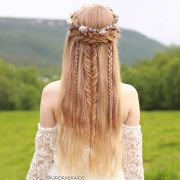 ideas princess hairstyles